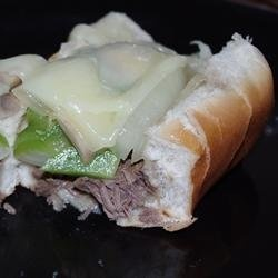 Slow Cooker Cheese Steaks | Recipe