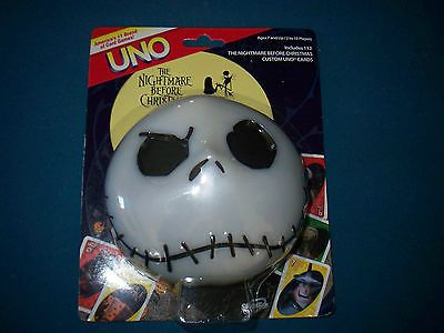 The Nightmare Before Christmas Uno Sealed 2007