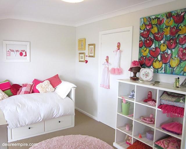 crisp and clean girl 39 s room diy kids bedrooms pinterest
