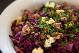 Red cabbage salad | Wedding Ideas | Pinterest