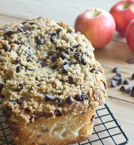 Apple Pie Bread with Chocolate Chip Streusel | Recipe