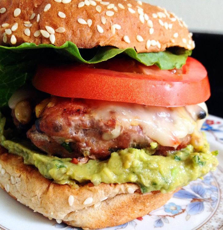 Southwest Turkey Burgers Recipe — Dishmaps