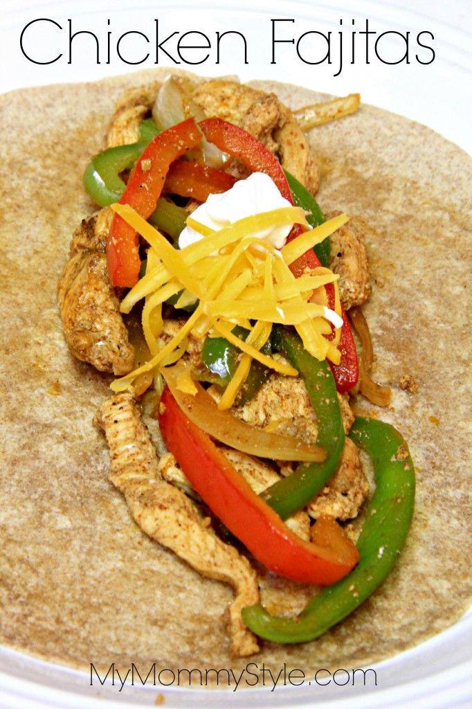 Chicken Fajita marinade | Fun Food | Pinterest