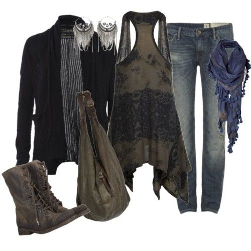 Womens Winter Clothes in Earthy Colors