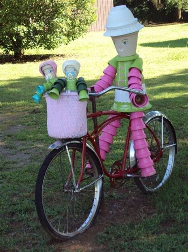 Momma and Kiddies Pot Bicycle Ride
