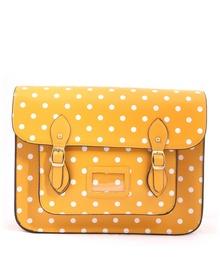 Žlutá puntíkovaná taška LYDC