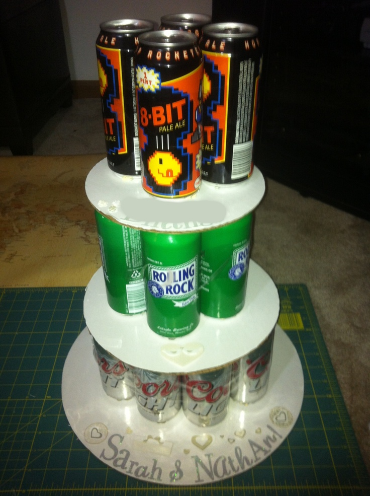 beer can cake