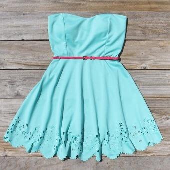 Native Skyline Dress, Sweet Womens Bohemian Clothing