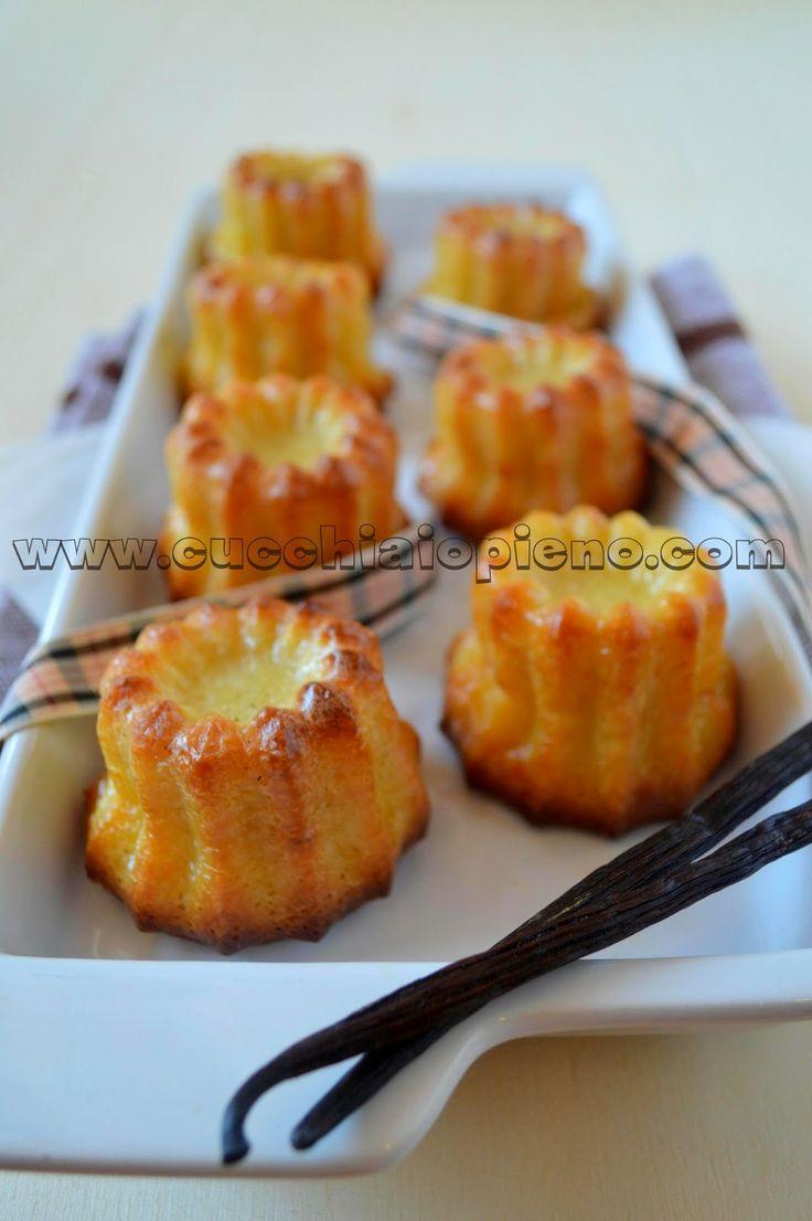 Cannelés de Bordeaux   Sweet recipes (receitas doces)   Pinterest