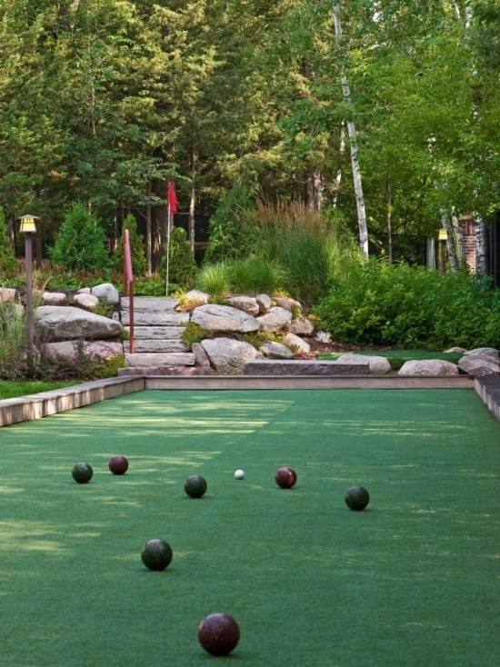 Backyard Bocce Ball Court Design : Bocce court  LOVE this  ~Home Sweet Home~  Pinterest