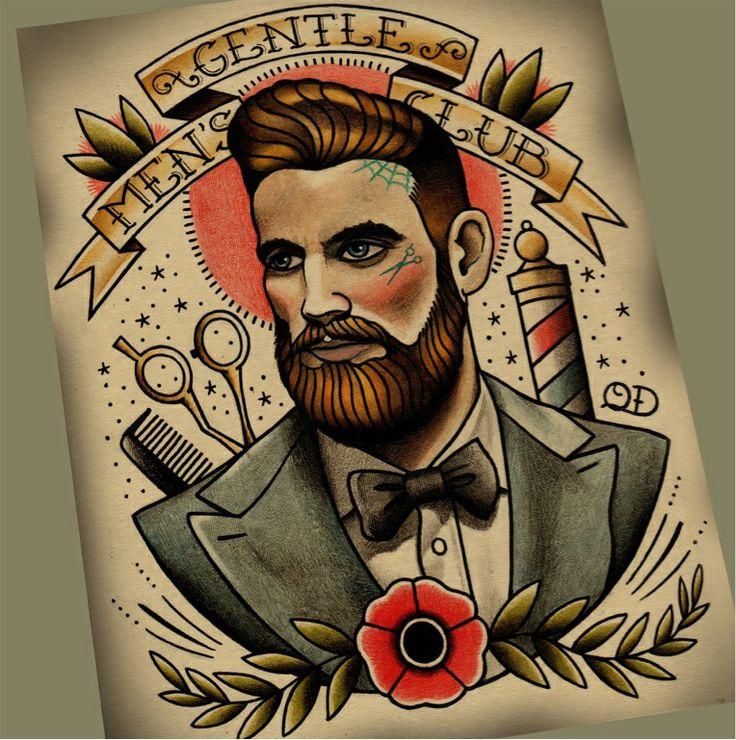 Barber Love : Love quyen new barber print.. Sergio Pinterest