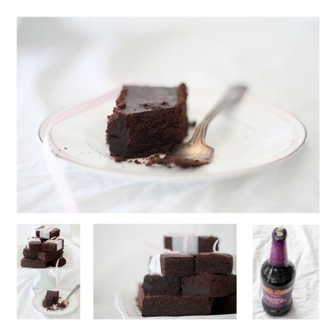 Chocolate stout brownies | FOOD | Pinterest