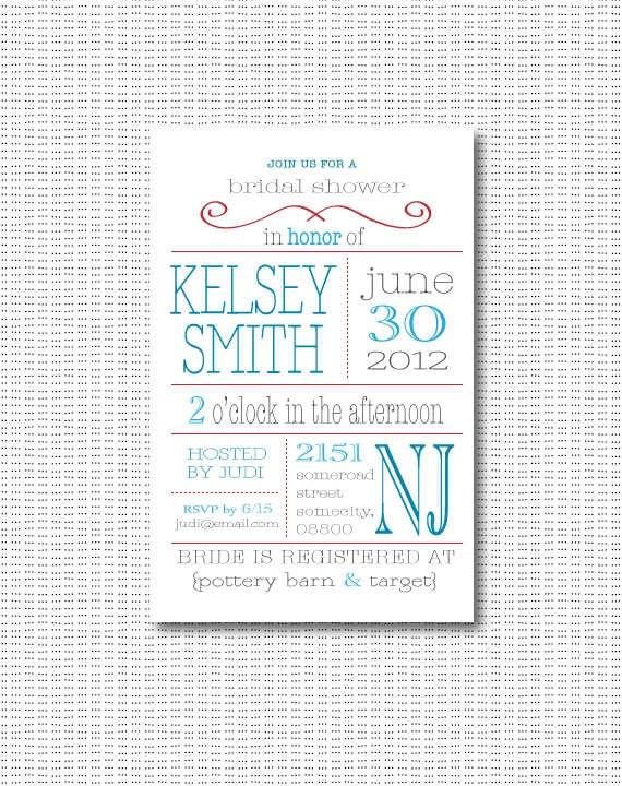 Invitations Bridal Shower as beautiful invitations ideas