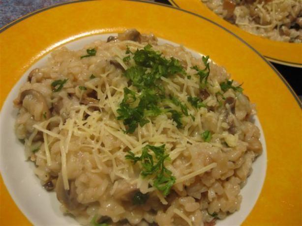 Mushroom Risotto | Recipe