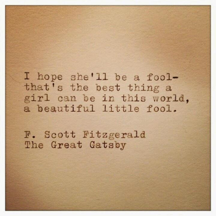 F Scott Fitzgerald Great Gatsby Quotes Daisy Buchanan Quotes....