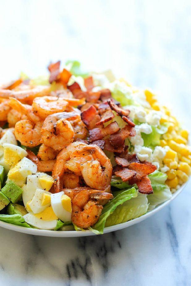 Check this tasty & healthy #shrimp #salad