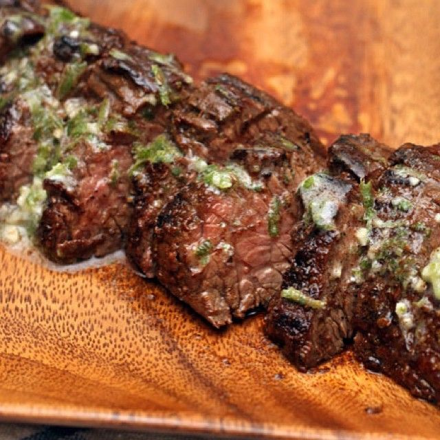 Grilled Chipotle Steaks with Lime Butter | Food And Drinks | Pinterest