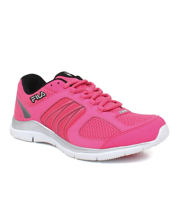 Take a look at this Neon Pink & Black Resilient BC Running Shoe