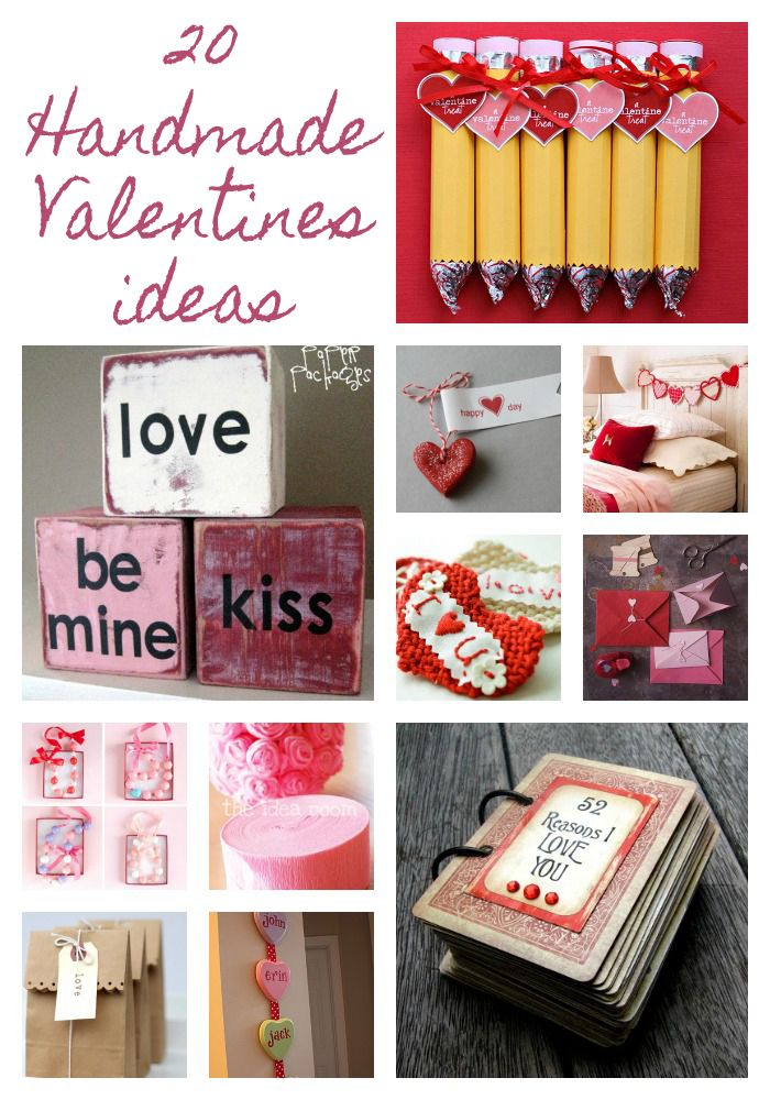 20 handmade Valentine ideas on iheartnaptime.net
