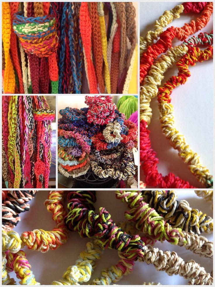 Collares crochet | Joyeria | Pinterest