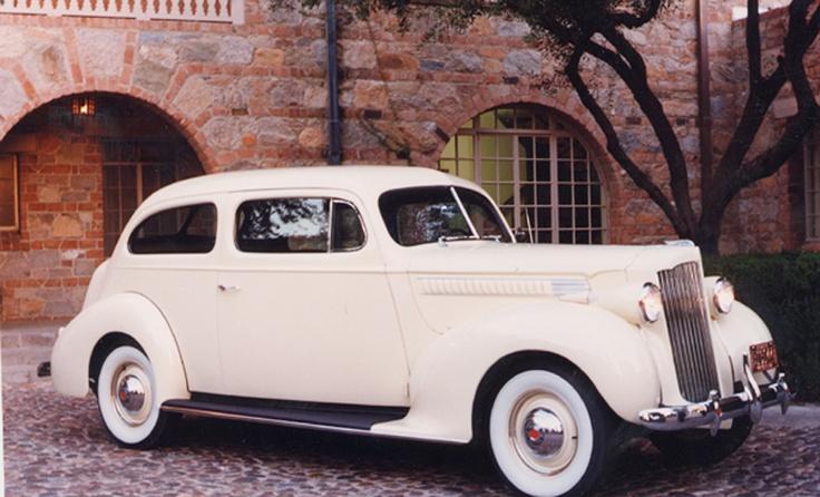 1939 Packard - our wedding car!