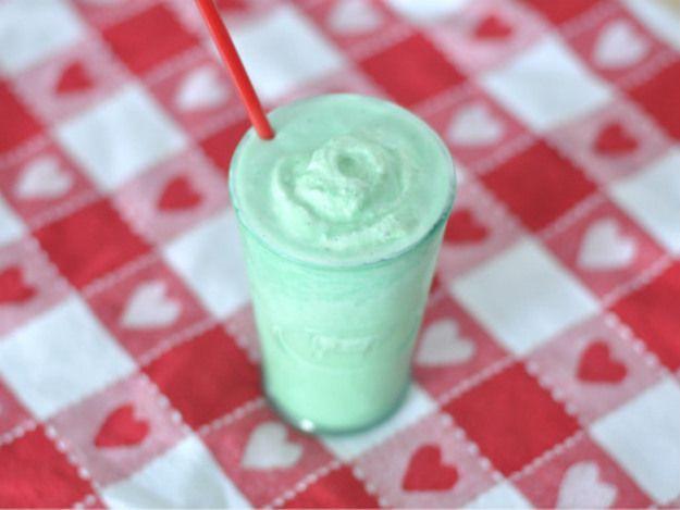 Homemade Shamrock Shakes | Food Stuff | Pinterest