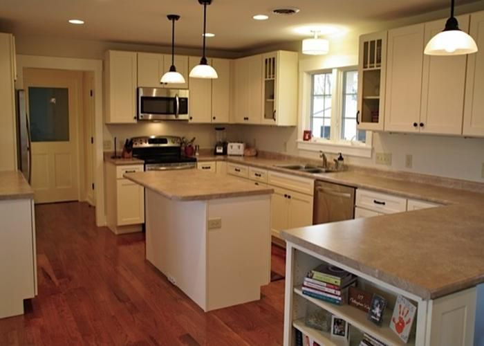 Cream #Shaker #Kitchen #Cabinets Ideas  Kitchen Cabinets Trend 2014