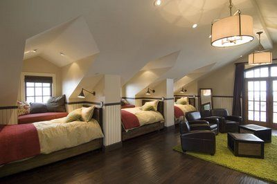 Preserve Each Built In Bed Designed In Dormer W Window Seat And Lamp