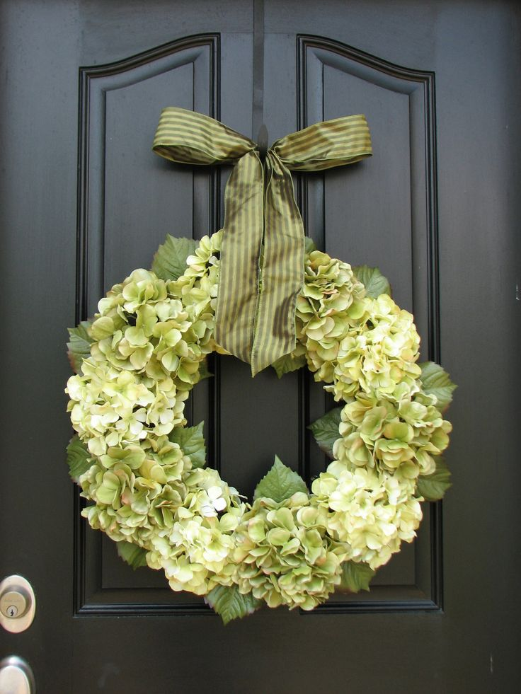 Wedding decorations hydrangea wreath wreaths home Decorative wreaths for home