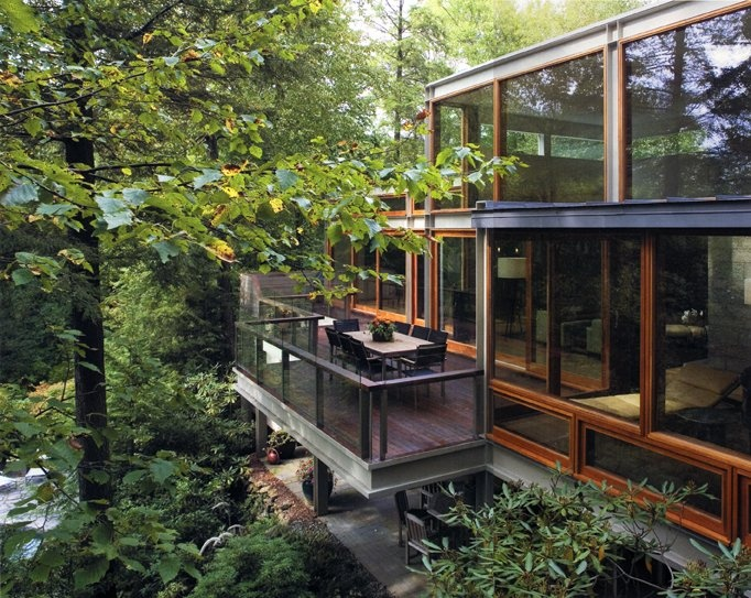 Passive solar beautiful tree house by ogawa depardon