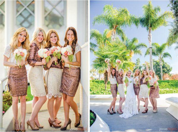 подружки невесты в юбках #wedding #bridesmaids #skirt