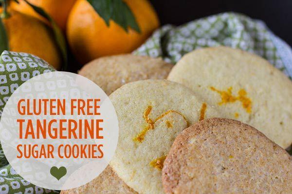 Gluten Free Citrus Sugar Cookie A Giveaway