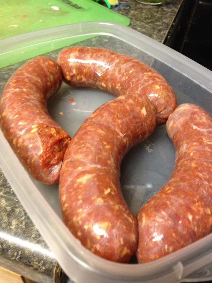 Homemade fresh deer chorizo | DIY Sausages & Jerky | Pinterest