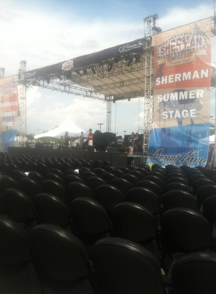 Sherman summerstage at mt. airy casino