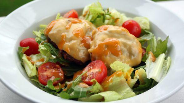 Cheeseburger Salad | Low carb | Pinterest