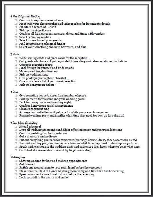 The Ultimate Wedding Planning Checklist | Cake, Weddings And Wedding