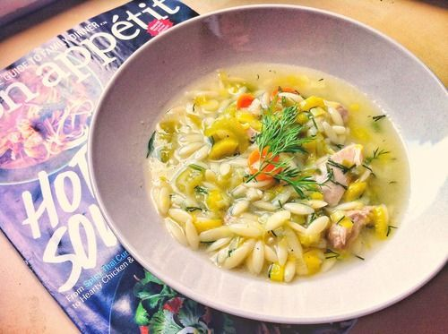 Lemon orzo soup, bon appetit. | Funny and yummy for the tummy! | Pint ...