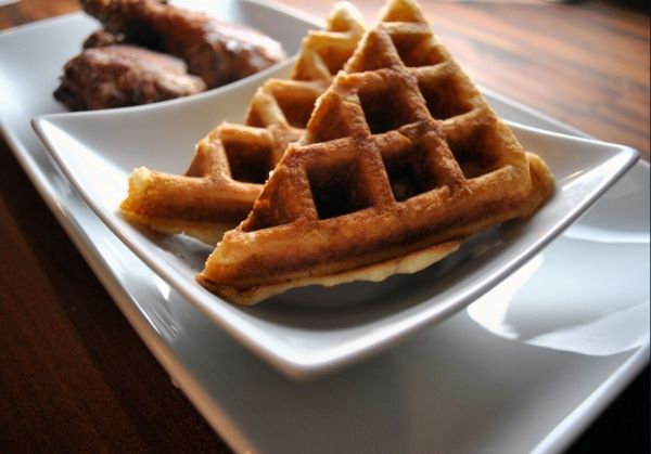 Thomas Keller Gluten-Free Fried Chicken and Waffles