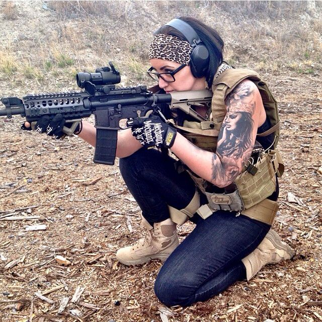 11 tactical girl with guns   This is Jeopardy!   Pinterest