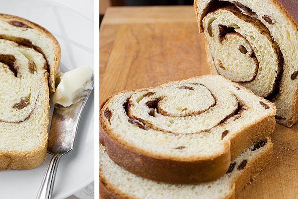 Cinnamon Raisin Swirl Bread | Recipe