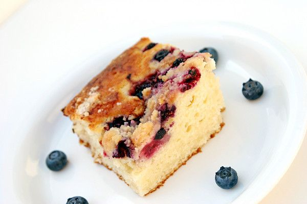 Blueberry-spice coffee cake | Desserts and Sweets | Pinterest