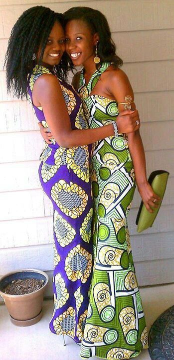 Beautiful African dresses | Ankara & kente ♡ | Pinterest
