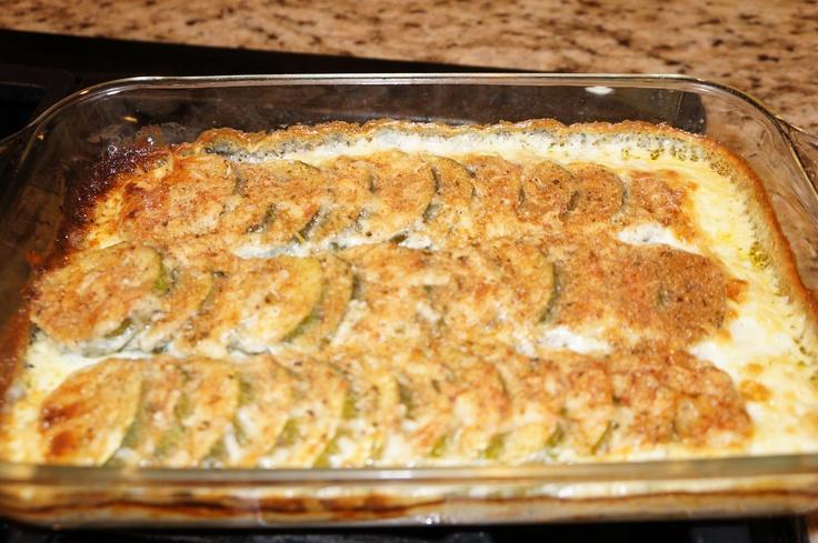 Zucchini Gratin | YUMMMMMMM | Pinterest