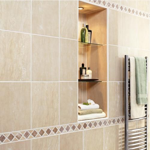 Excellent Need Some Ideas For A Bathroom Accentborder Tile