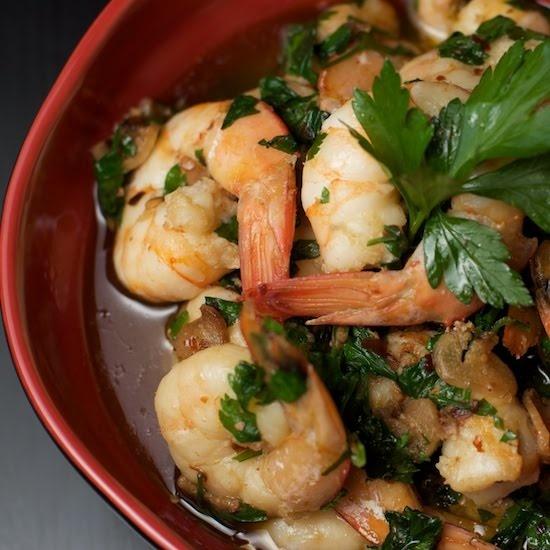 Gambas-pil-pil Sizzling Garlic and Parsley Prawns (similar to shrimp ...