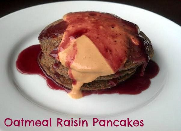 oatmeal raisin pancakes | Recipes To Try | Pinterest