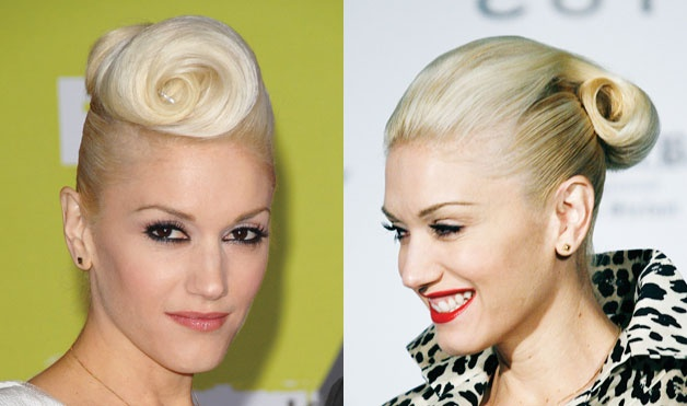 Only a bad ass chic can pull off these styles gwen is bad ass