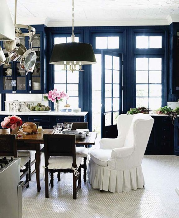 Cobalt Blue! Kitchen Dining Room Trends | future home ...