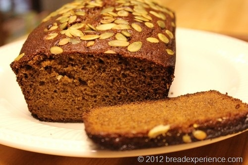 Einkorn Olive Oil Pumpkin Bread | Food - Einkorn/Sprouted Grains/Heal ...