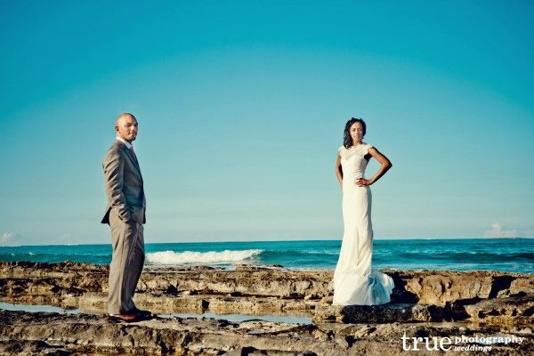 Bahamas: the perfect wedding backdrop.